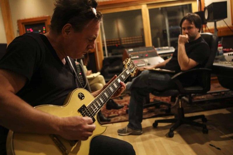 International Swingers record at Studio 606, Los Angeles