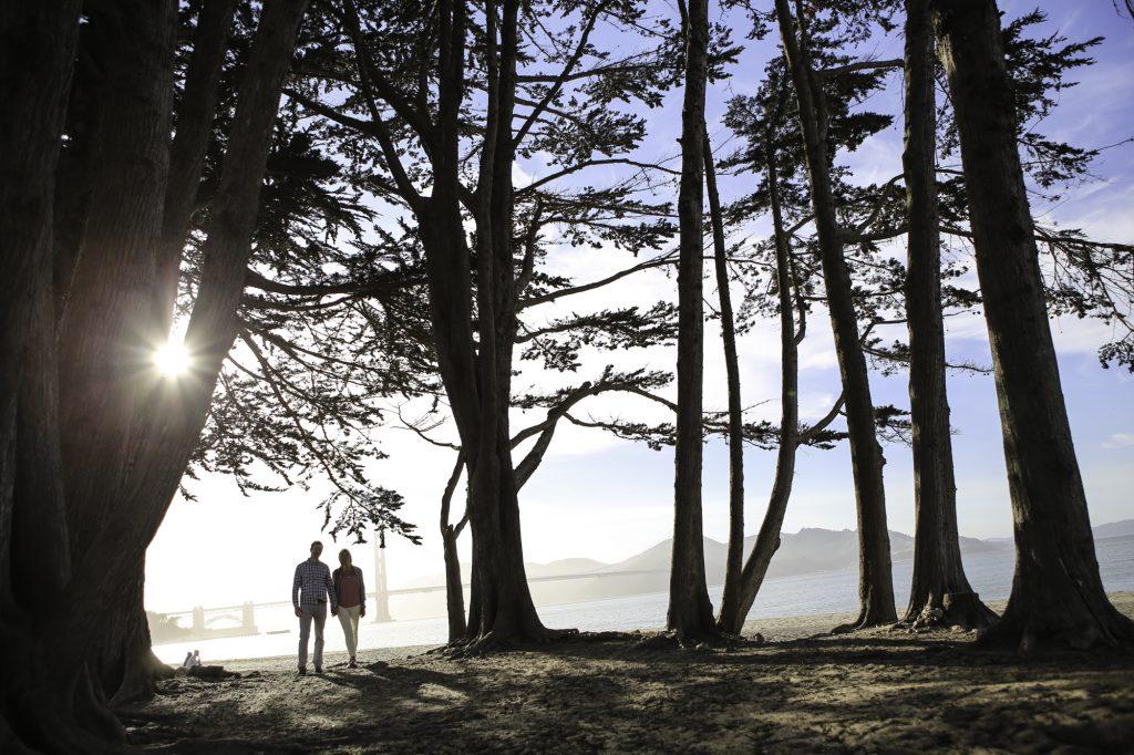 Chrissy Field Engagement ~ San Francisco Wedding Photographer ~
