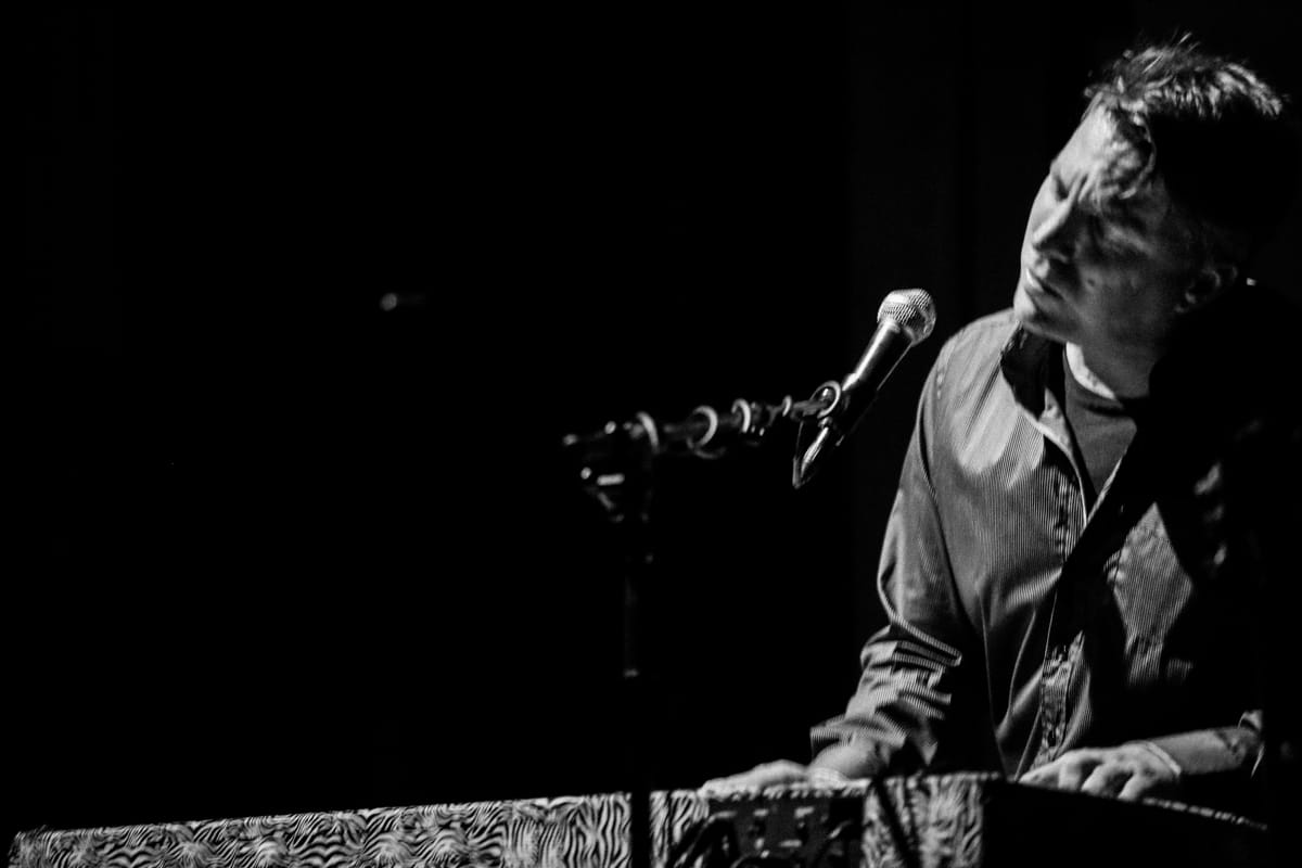 Tim Hockenberry Rocks The Throckmorton ~ San Francisco Music Photography ~