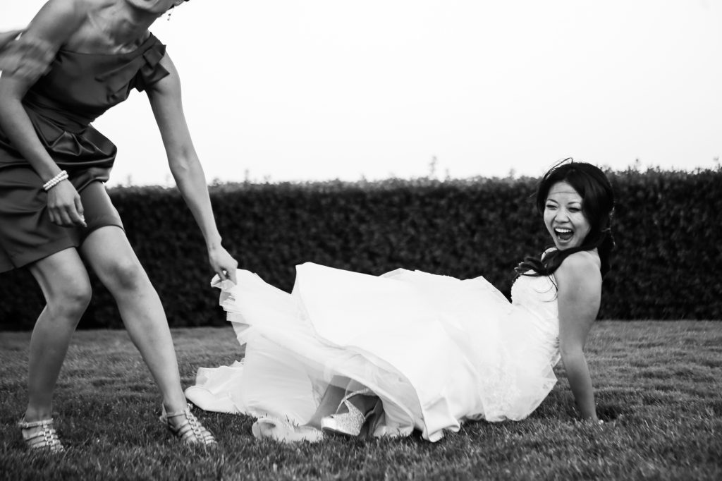 Lots of Laughs at Gloria Ferrer Winery Wedding ~ Sonoma Wedding Photography ~