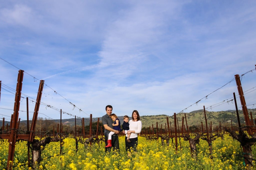 Family Portraits in the Napa Mustard Fields