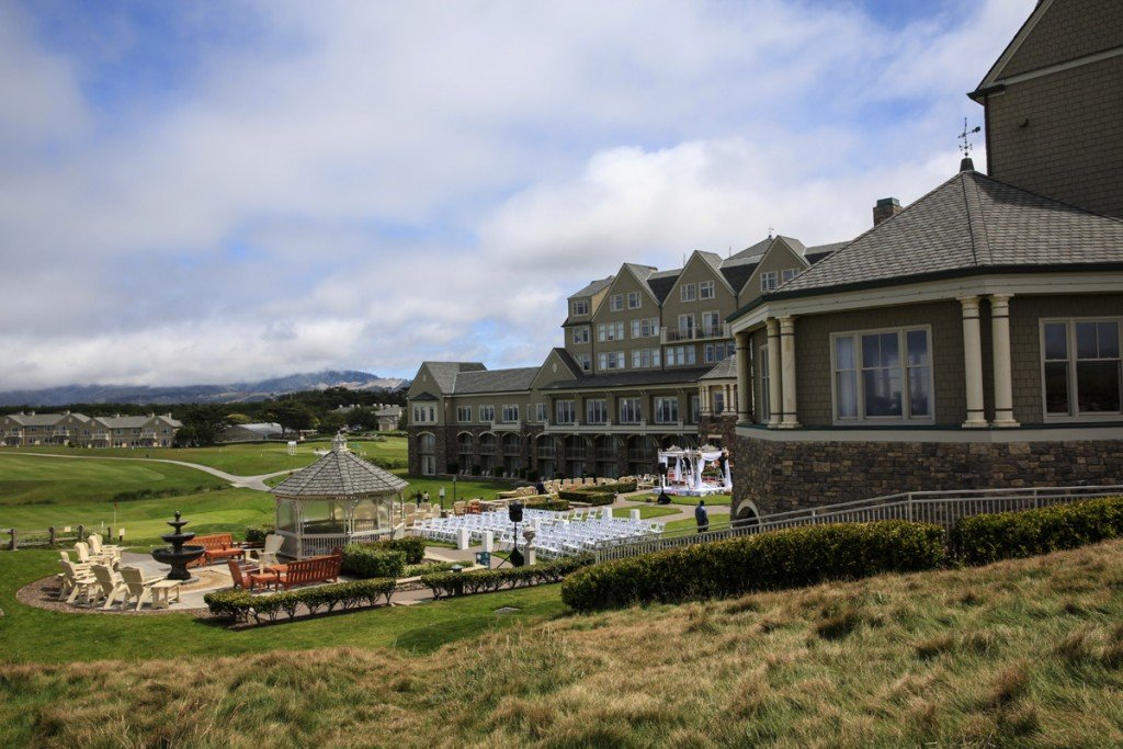Ritz Carlton Half Moon Bay Venue Wedding Misti