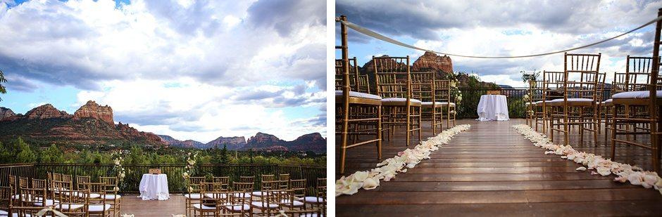 sedona destination wedding l'auberge de sedona arizona outdoors view