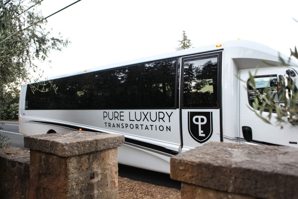pure luxury transportation corporate photography