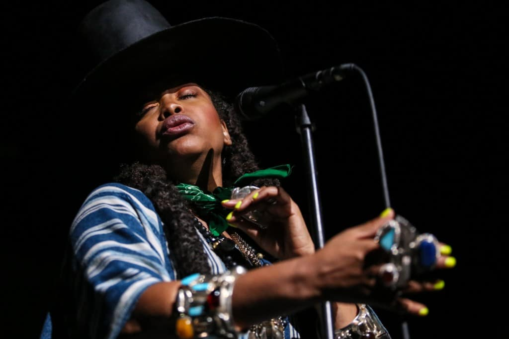 Erykah Badu the Warfield live music photography