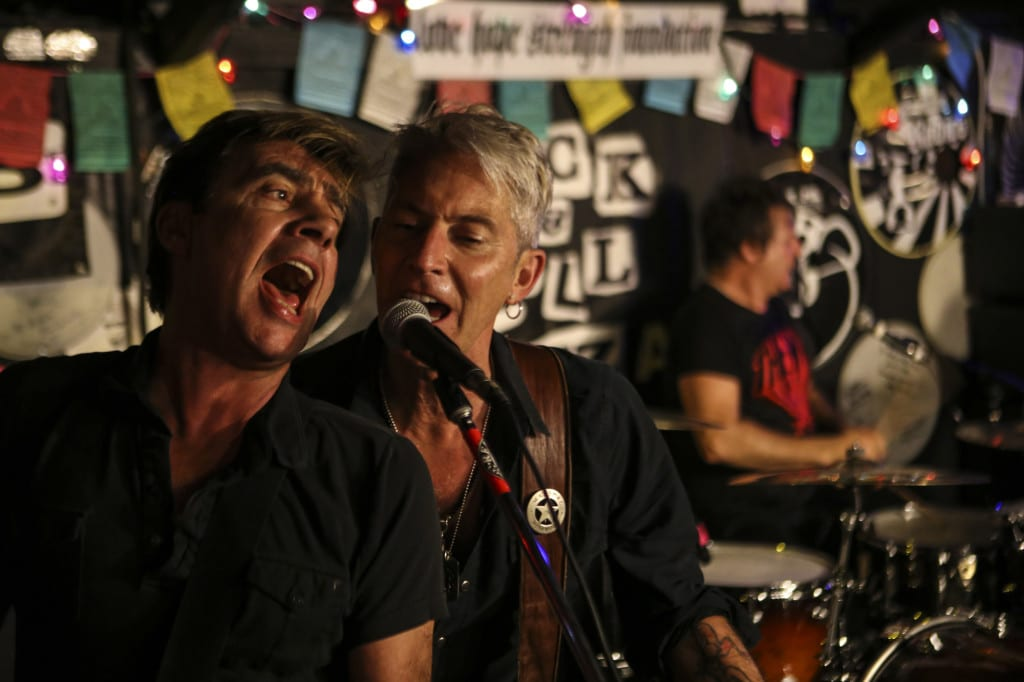 Clem Burke, Gary Twinn, Glen Matlock The International Swingers
