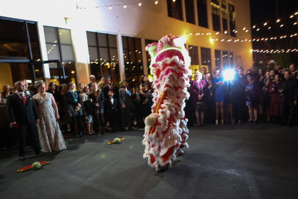Terra Gallery Wedding meets Chinese Lions + Customs