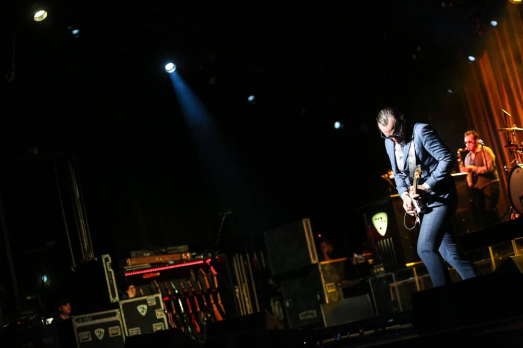 Joe Bonamassa guitar virtuoso at The Warfield San Francisco
