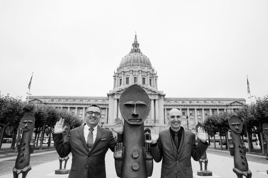 San Francisco City Hall ceremony Misti Layne