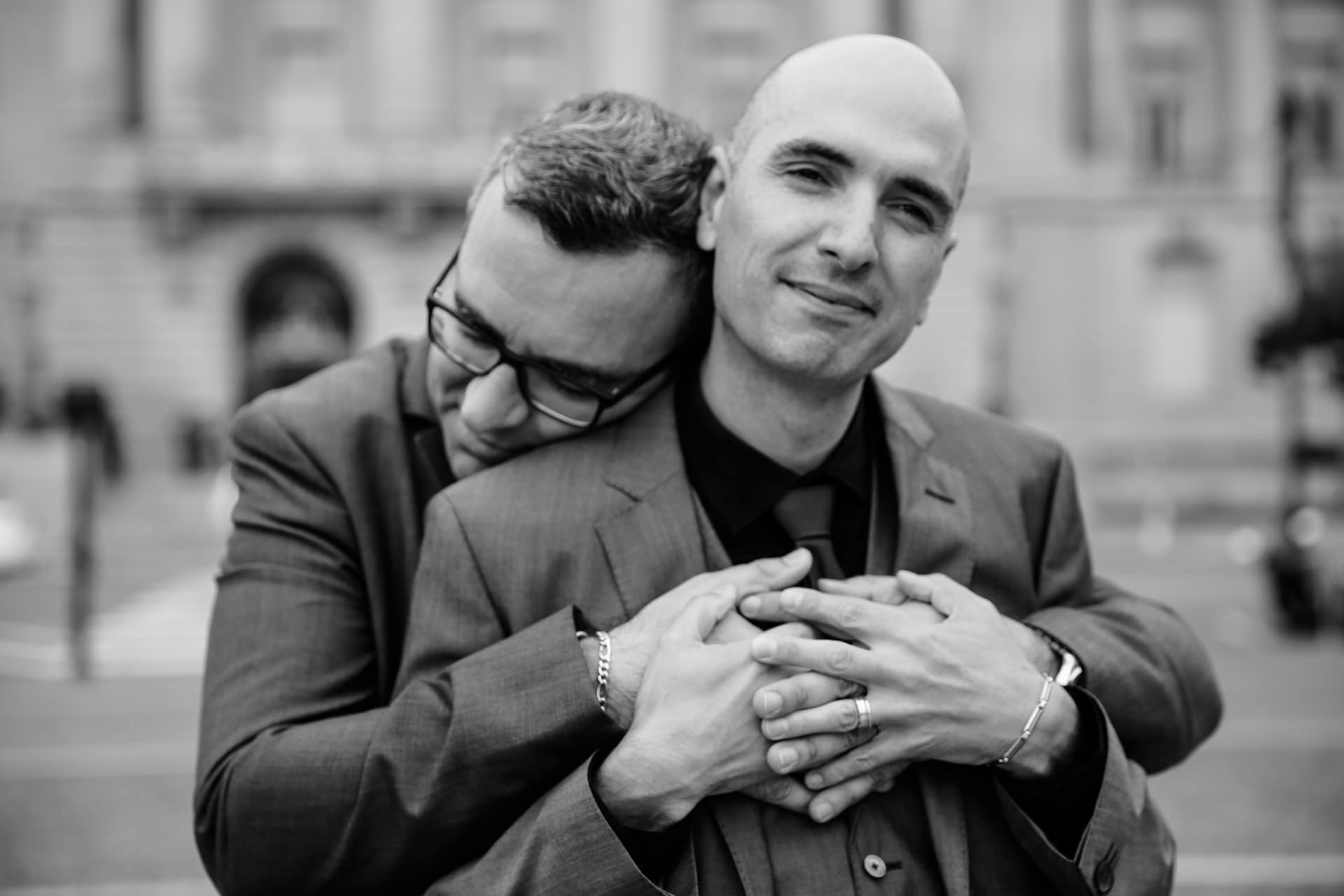 San Francisco City Hall Ceremony, Just Us Four   Intimate Weddings