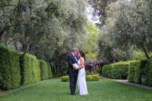 Whimsical Allied Arts Guild Wedding