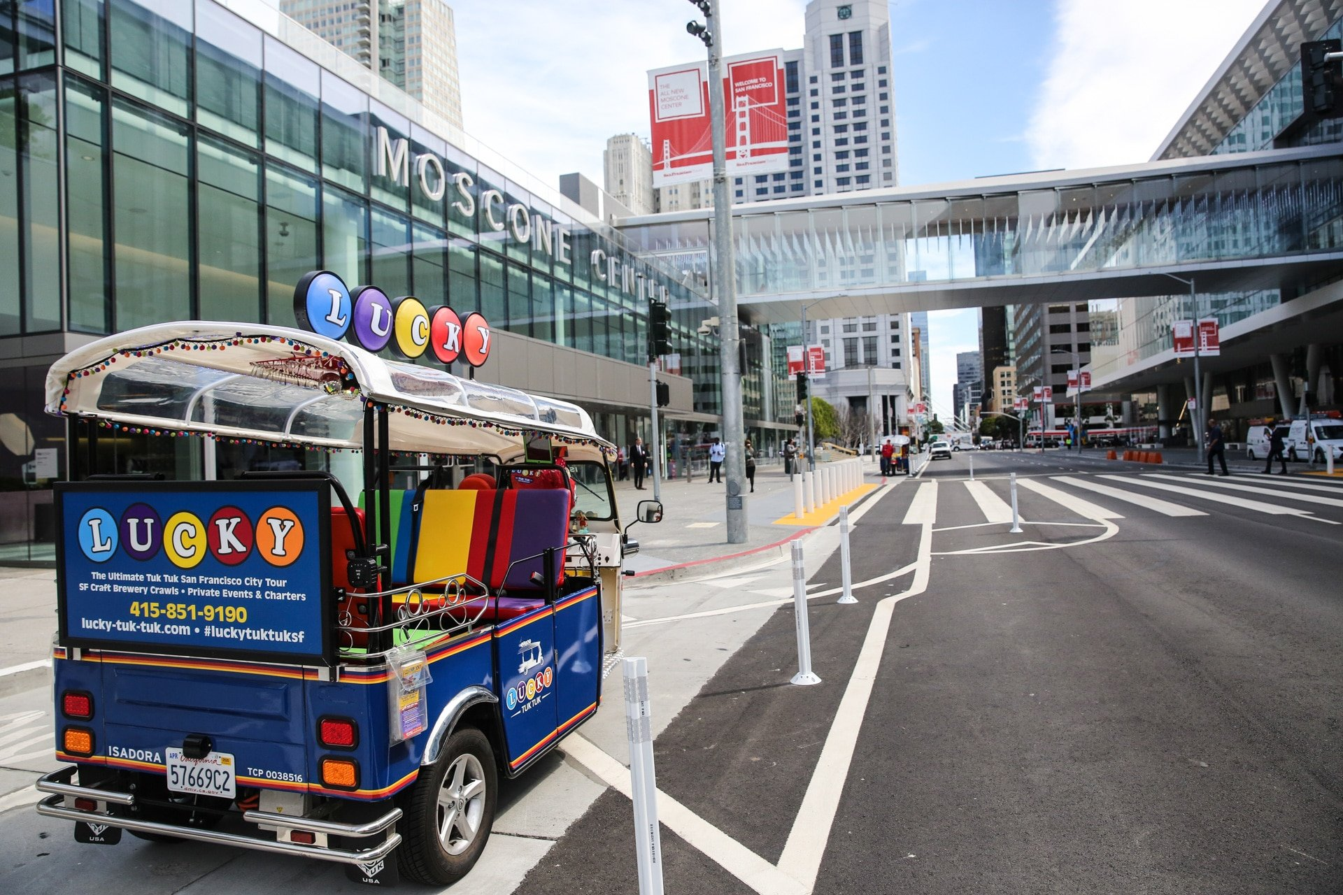 SF Travel Moscone Conference Center Hosts Luncheon