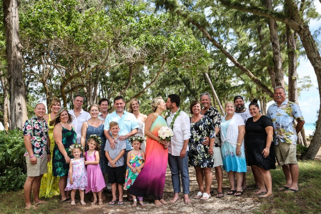 wedding planning, intimate hawaii wedding photography by destination photographer Misti Layne