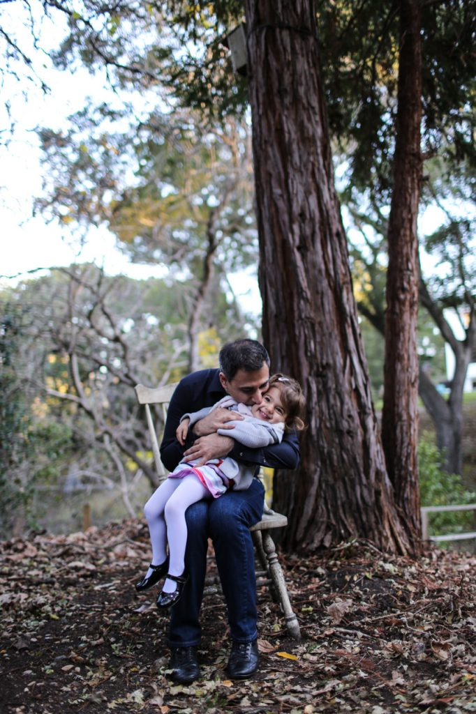 family portraits at home backyard family photographs San Francisco Misti Layne photographer