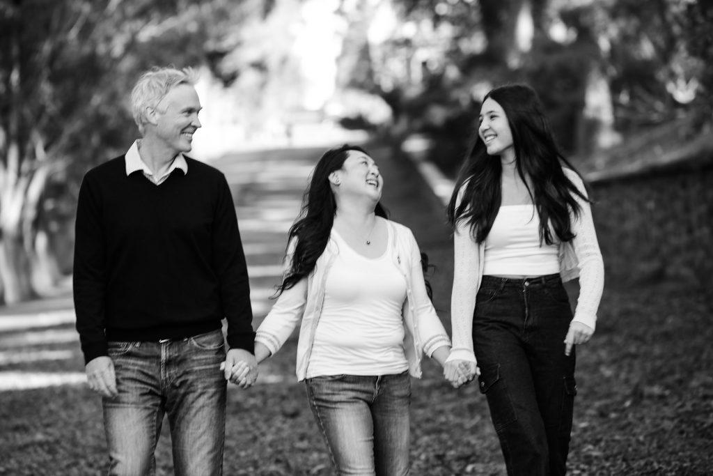 outdoor family portraits, misti layne photography